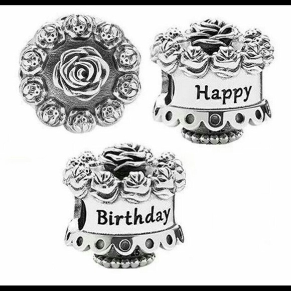 Remarkable Pandora Jewelry Birthday Cake Charm Poshmark Birthday Cards Printable Opercafe Filternl